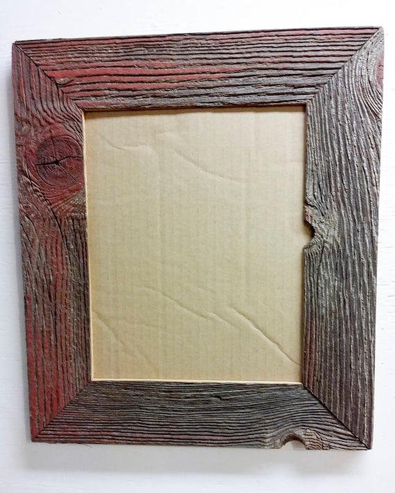 8 x 10 Inch Authentic Barn Wood Frame Old BarnWood Recycled | Etsy
