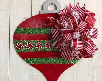 Christmas Door Hanger Etsy