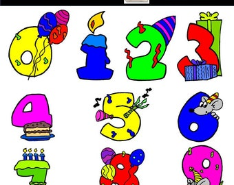 Items Similar To Digital Red Minnie Birthday Party Clip Art Red