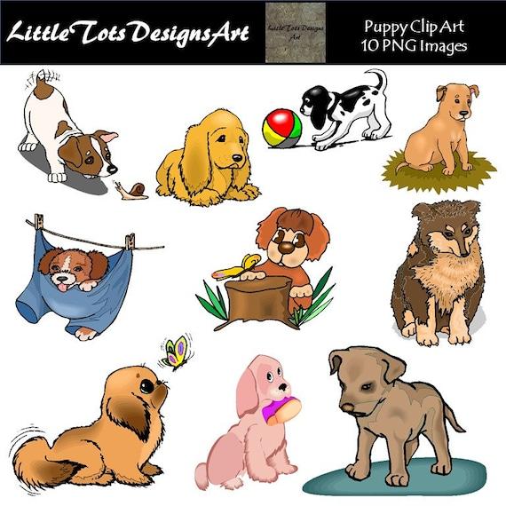 Dog Clipart Clip Art Puppy Clipart Clip Art Cute Dogs Etsy