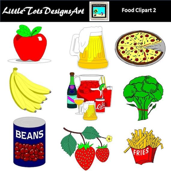 Food Clip Art Grocery Breakfast Lunch Dinner
