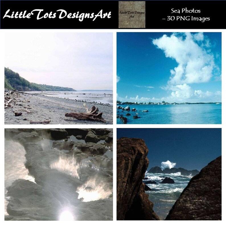 Sea Photos - Sea Photo Set - Horizontal Photo - Set of 30 Photos - Digital  Photo Set - Digital Photo - Digital Download