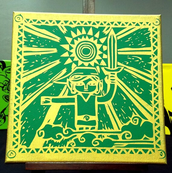 Wind Waker Prologue Tribute Canvas