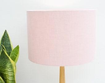 Pink Grey Lampshade, Pink Grey And White Lamp Shade