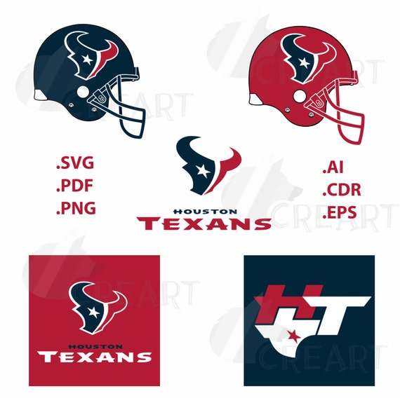 Houston Texans Logo SVG PNG Clipart Svg Cutting