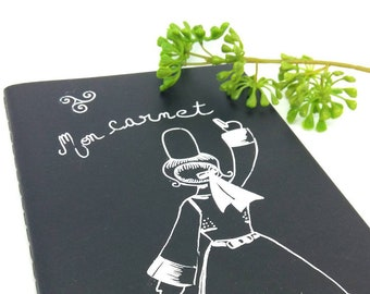 Carnet noir, mon carnet, bretonne