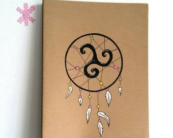 Moleskine Cahier, Grand cahier Dreamcatcher, inspiration celtique