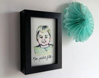 "Carte ""Mon petit fils"""