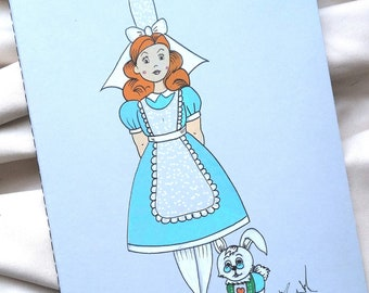Carnet Alice et son lapin