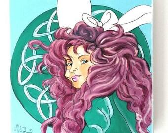 tableau Merida, princesse celtique