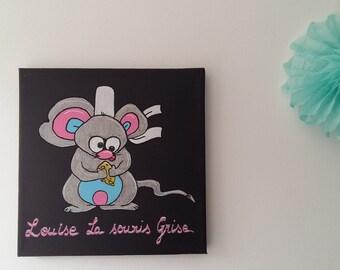 Tableau Louise la souris grise
