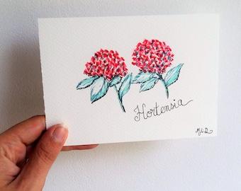 Carte Hortensia