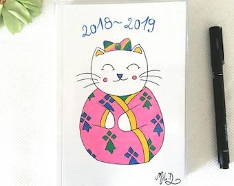 Agenda 2018 2019 chat kimono