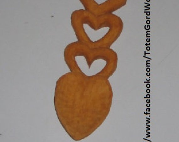 Wedding Reception Favour Special Celtic Love Spoon lovely hearts Valentines Day hand carved for that special someone