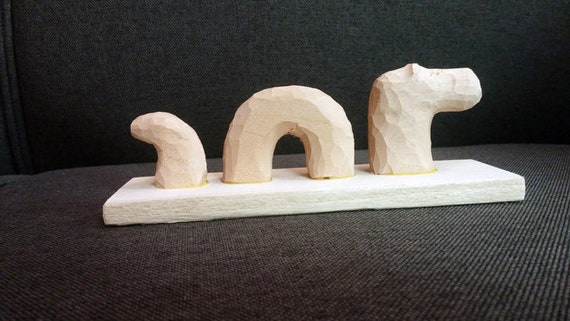 Loch Ness Monster hand carved  wood  whimsical great gift any time, Christmas gift, each unique