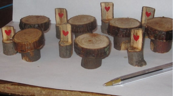 Waldorf Fairy chairs and table set 6 of each hand carved wood toys leaning tools home schooling school teachers aid kids toys whimsical