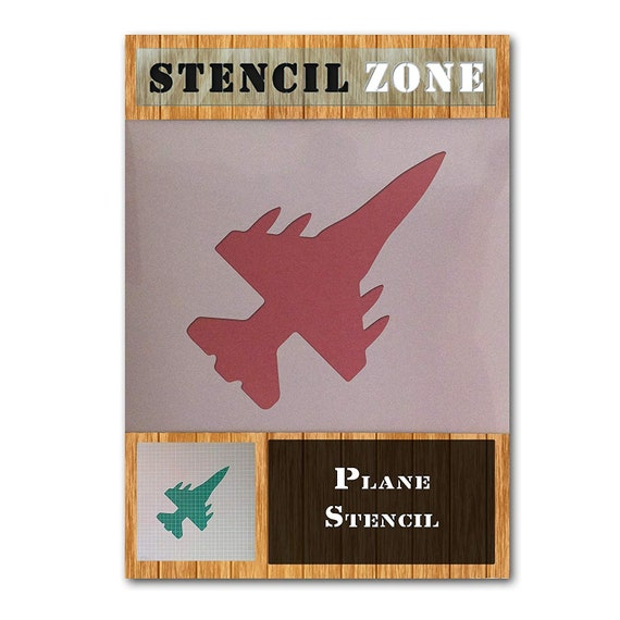 Plane Aviation Jet Aircraft Mylar Airbrush Painting Wall Art Crafts Stencil four