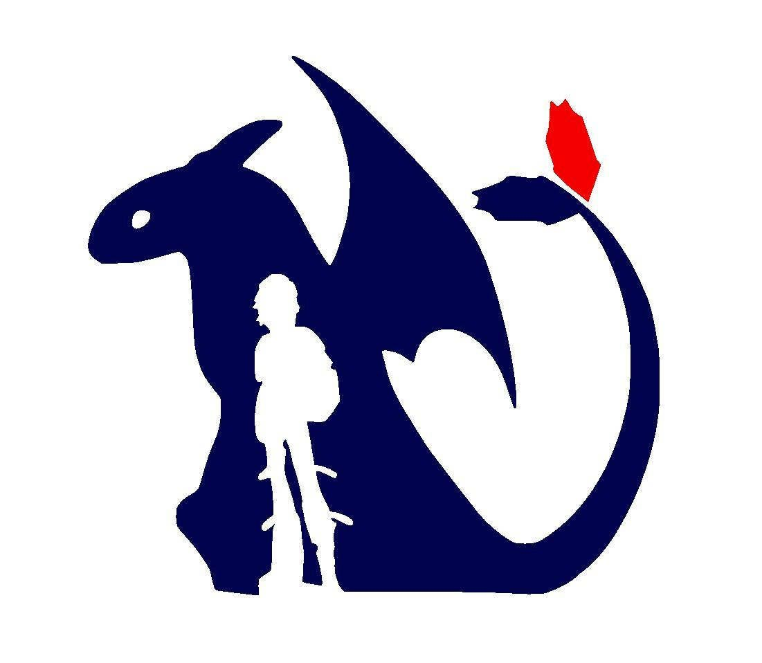 How To Train Your Dragon Toothless and Hiccup Vinyl Decal   Etsy 34e5074ebc