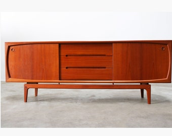 Danish Sideboard Credenza : Rare danish sideboard credenza by ib kofod larsen for faarup etsy