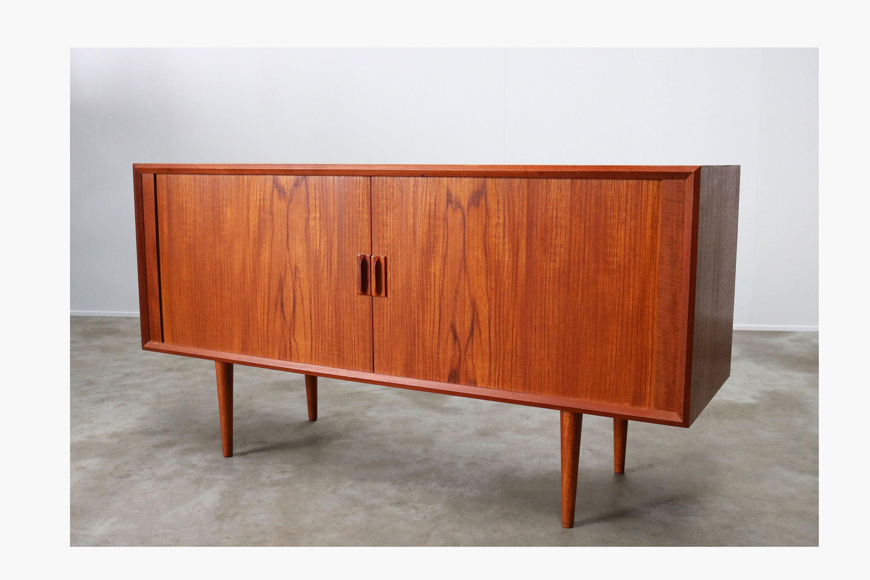 Danish Design Credenza : Rare small danish design credenza sideboard by svend aage etsy