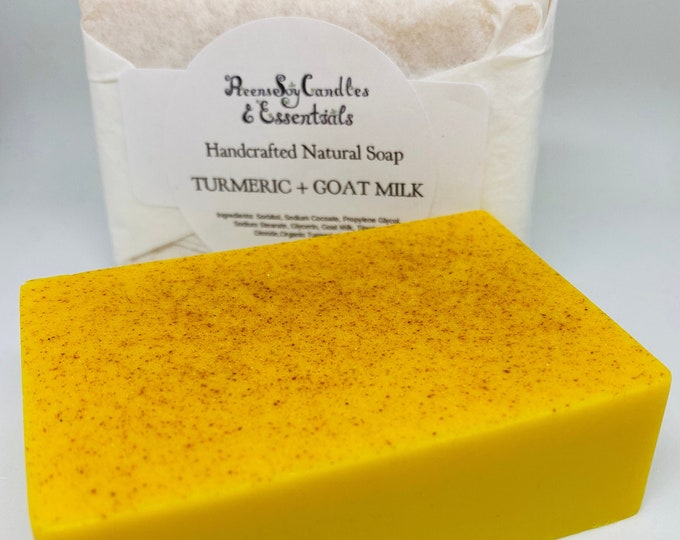 Turmeric Soap (UNSCENTED)