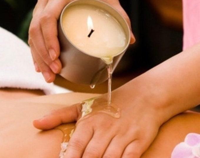 Vegan Soy Lotion Candle / Massage Candle