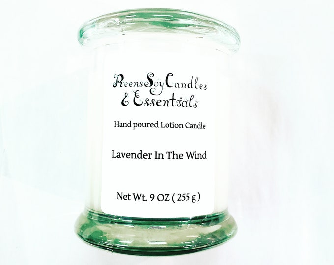 Soy lotion candles