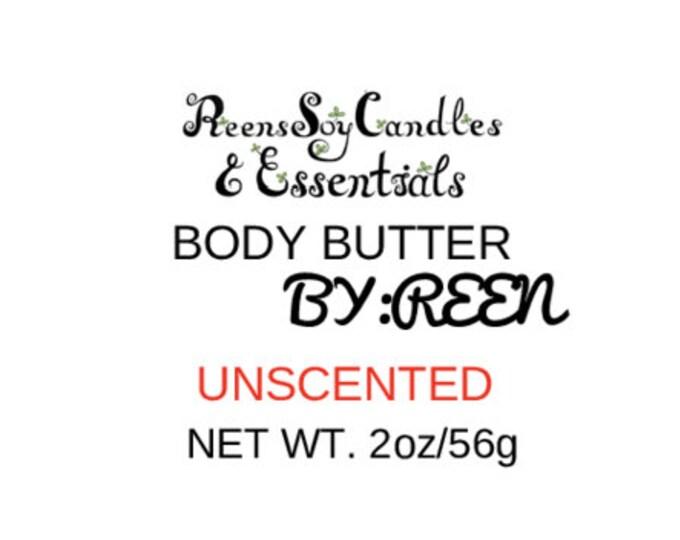 Whipped Shea Body Butter/ Natural / Eczema /Moisturizing
