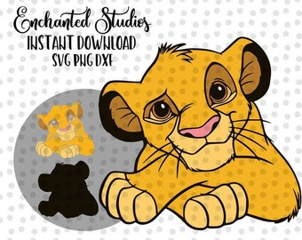 Baby Lion King Svg Etsy