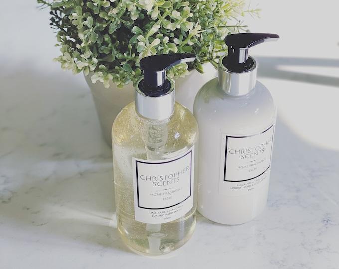 Luxury Hand Wash & Lotion Set