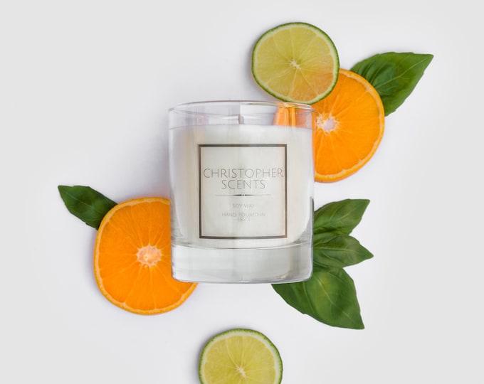 Lime Basil & Mandarin Candle