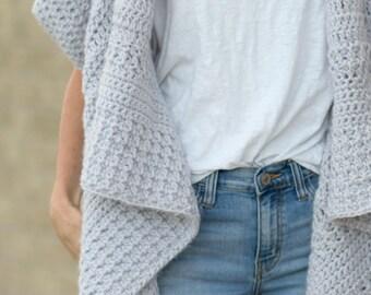 371877ad39 Knit Sweater Pattern Knit Blanket Sweater Knitting Pattern