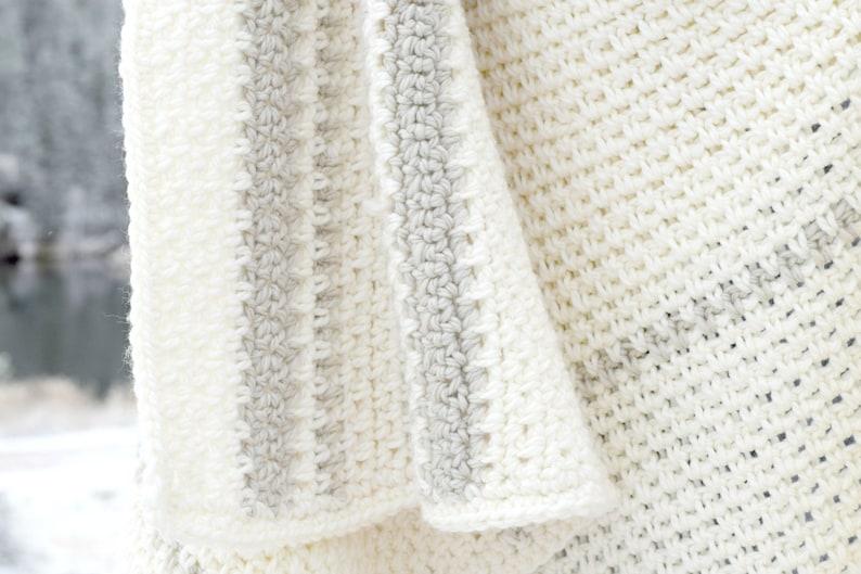Crochet Afghan Pattern Wool Blanket Pattern Winter Blanket Etsy