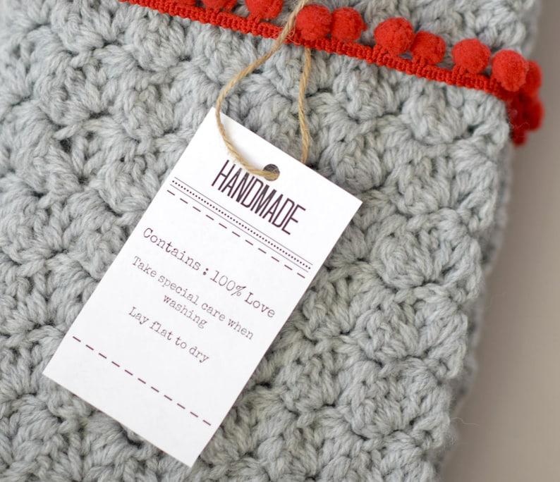 Handmade Labels Printable Tags Handmade Printable Tags Hand Etsy