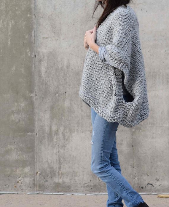Knitting Pattern Kimono Sweater Knitting Pattern Telluride Etsy