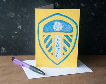 Leeds United Father's Day Card
