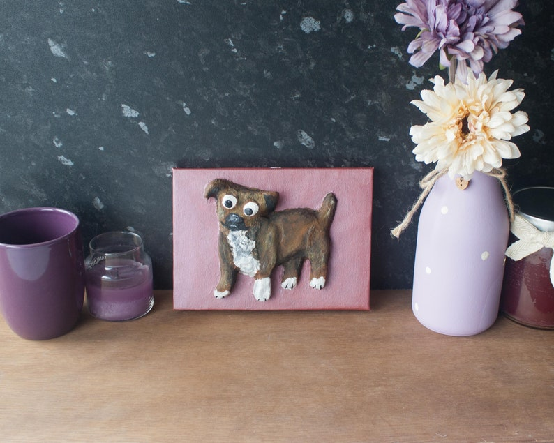 Staffordshire Bull Terrier Dog Painting image 0