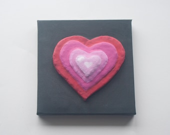 Love Hearts Painting