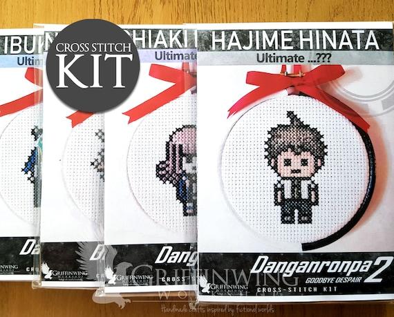 Danganronpa 3 Dangan Ronpa Komaeda Nagito Hinata Hajime Pixel Keychain Keyring
