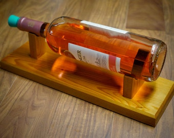 Wine Stand, Handmade, Solid Wood