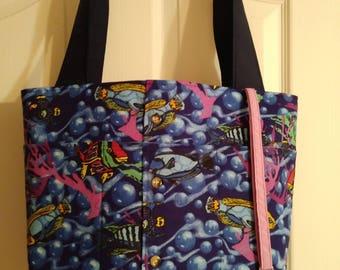 Paradise Fish Tote Bag