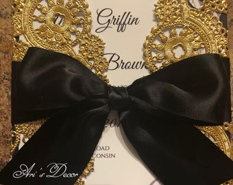 Doilie Elegant invites
