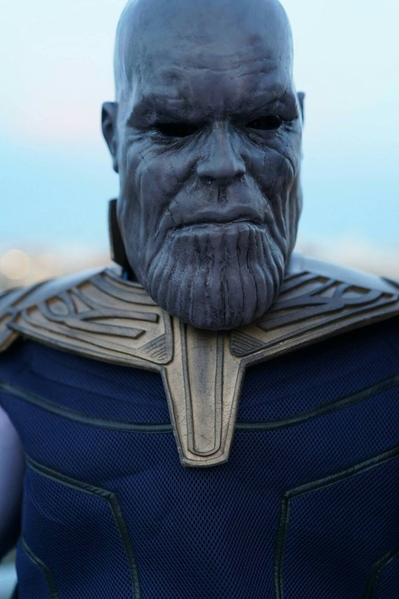 Avengers Infinity War Thanos Action Figure maschera thanos cosplay