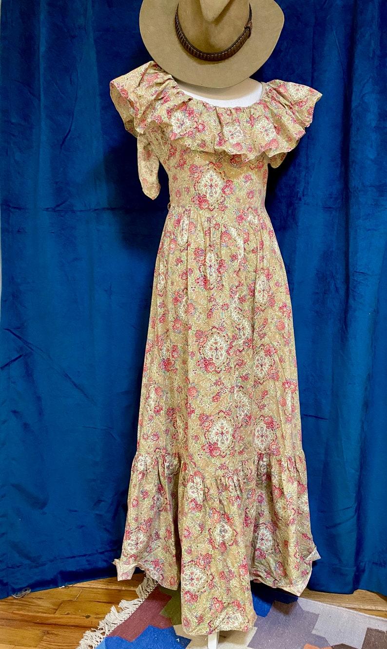 Western Gunny Sack Dress