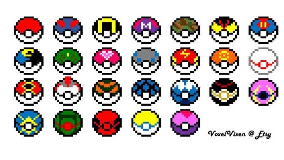 Pokemon Rouge Et Bleu Au Soleil Et Lune Démarreurs Et Plus Pixel Sprites De Perler