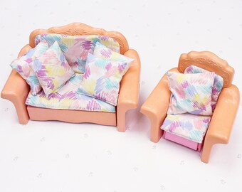 Astonishing Barbie Couch Chair Etsy Short Links Chair Design For Home Short Linksinfo
