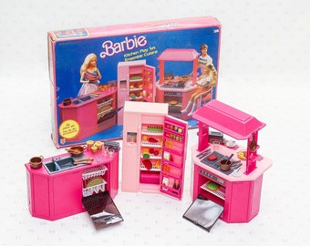 Barbie Accessories Popcorn Night Toy Food Play Set Etsy