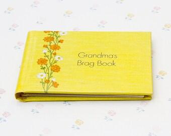 Nana Brag Book Etsy