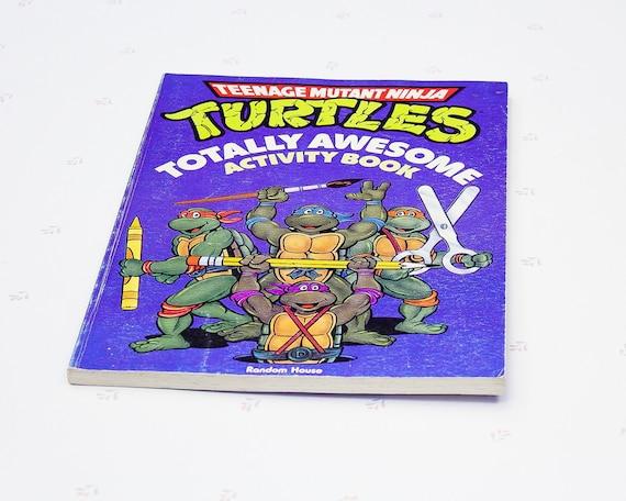 Teenage Mutant Ninja Turtles Retros Pencils 4 pack 1980s Animated Cartoon NEW
