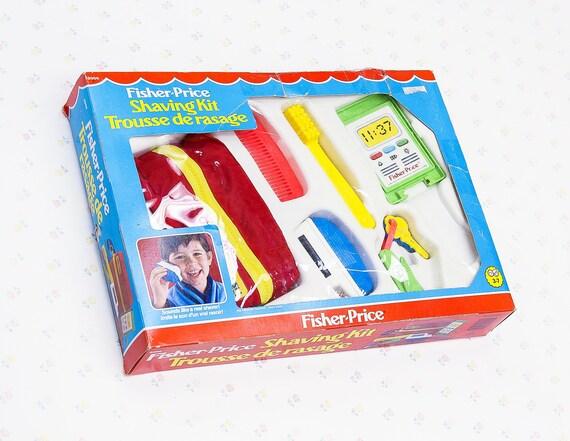Vintage Fisher Price Shaving Kit Vintage Toy Razor Kids Etsy